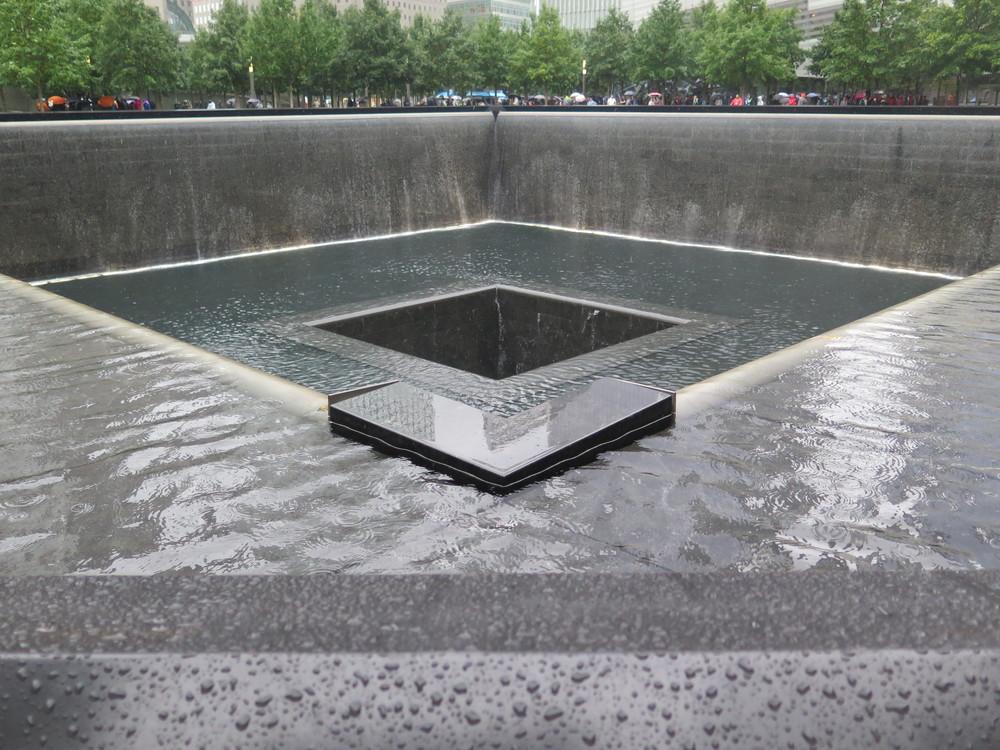 Ground Zero minnesmerke. Designet av norske Snøhetta.
