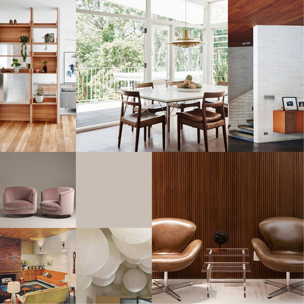 Nymoderne 60-talls interiør?
