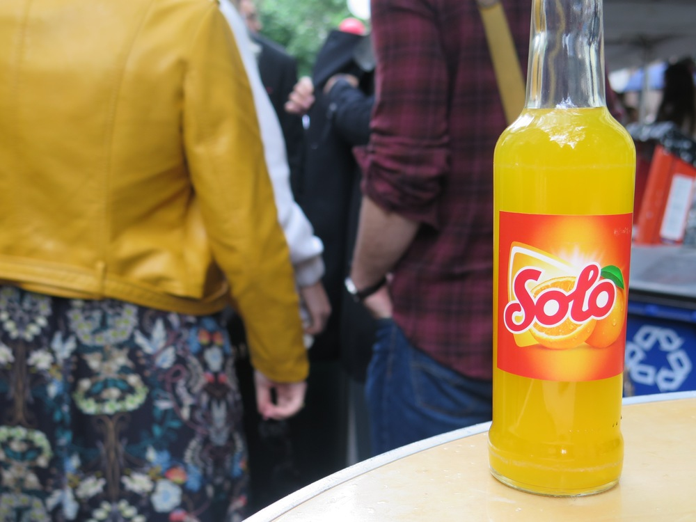 They served traditional Norwegian food and even Solo, a Norwegian soda.