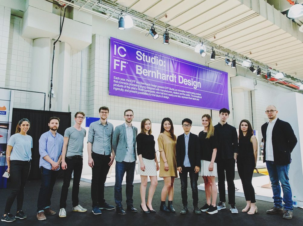 The ICFF Studio class of 2016