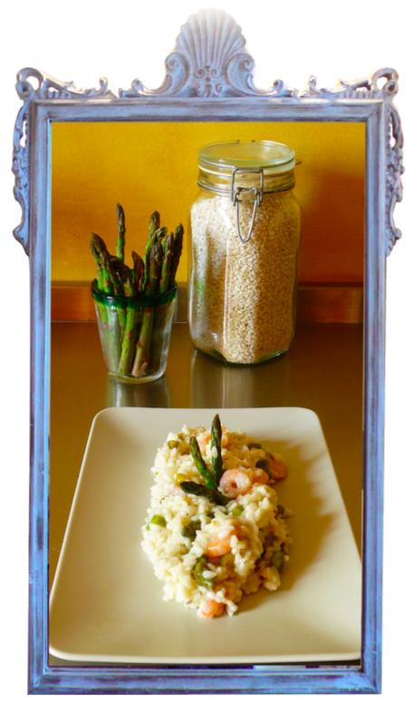 Prawn & Asparagus Risotto