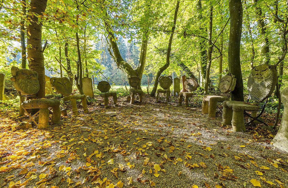 Sitzungszimmer im Waldgarten