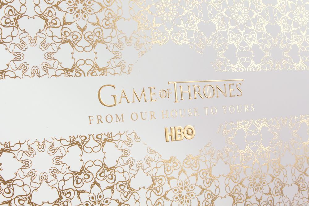 Game Of Thrones Packaging