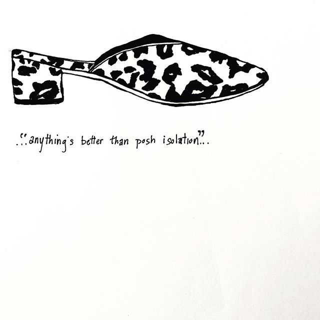 #loefflerrandall #leopard #mule #belleandsebastian #lyrics #blackandwhite #drawing #dailydraw #penandpaper #illustration #drawnbysarah