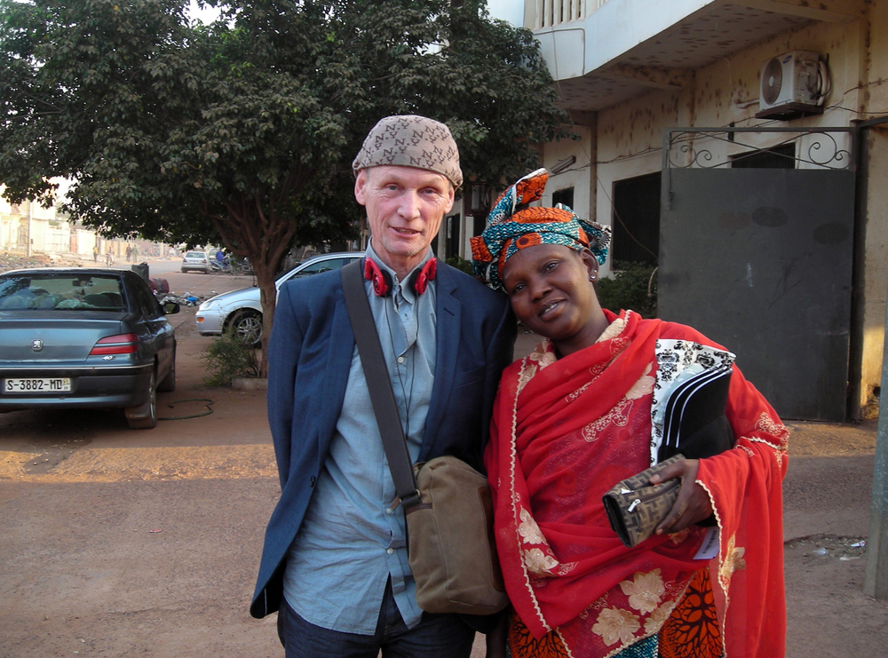 Me and my sister Fafa in Bamako, Dec 2013.