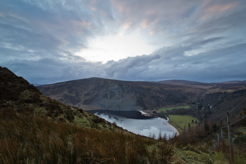 Lough Tay Sunset © Greig Houghton 2012