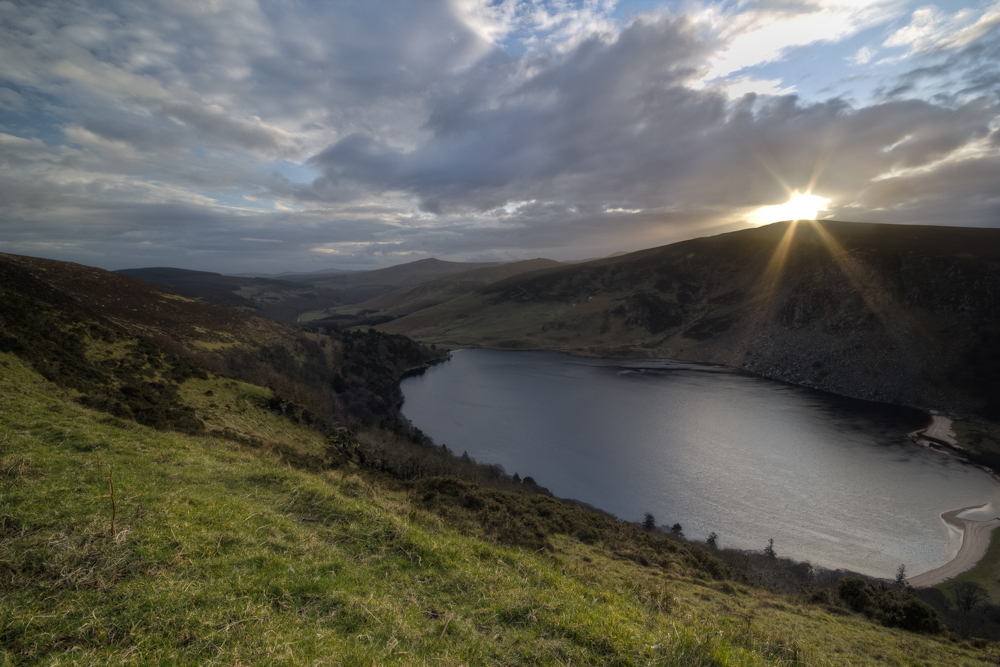 Lough Tay Sunset, Co Wicklow, Ireland © Greig Houghton 2012