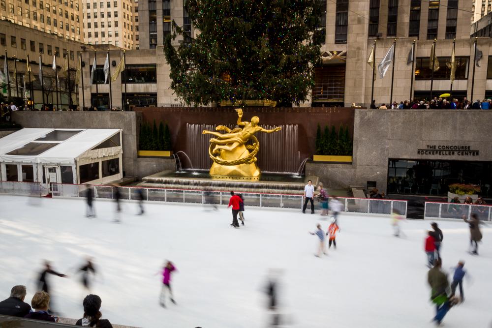 Rockafeller Ice Skating