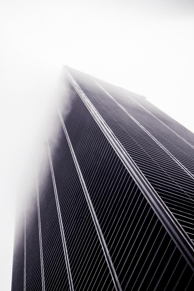 NY Skyscraper Fog