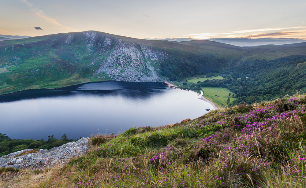 Lough Tay and Lugalla