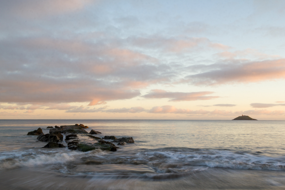 Ballycotton Beach Sunset