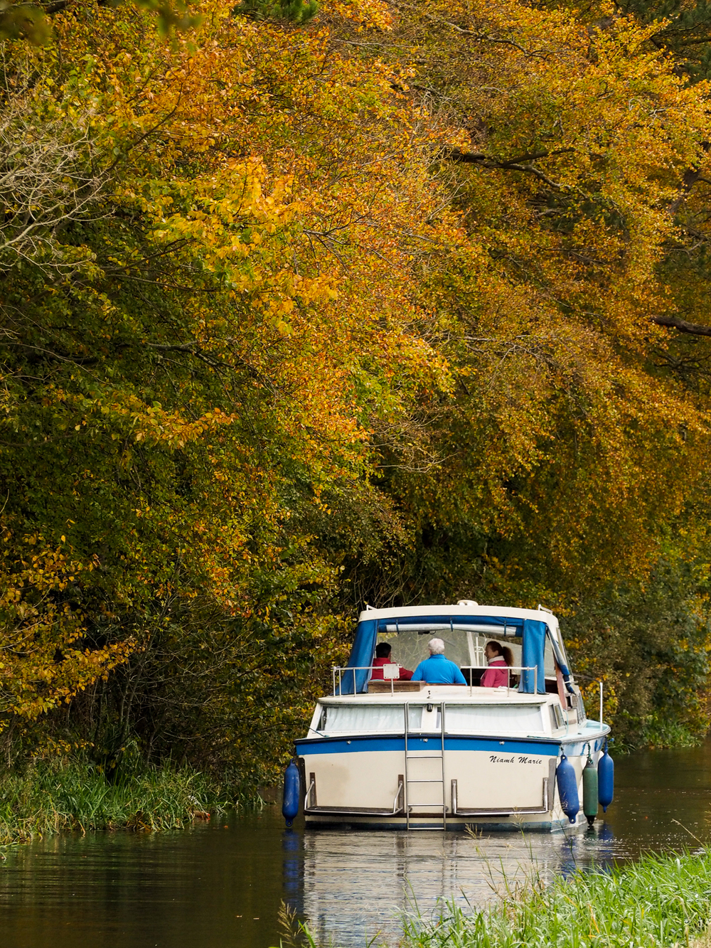 autumn grand canal