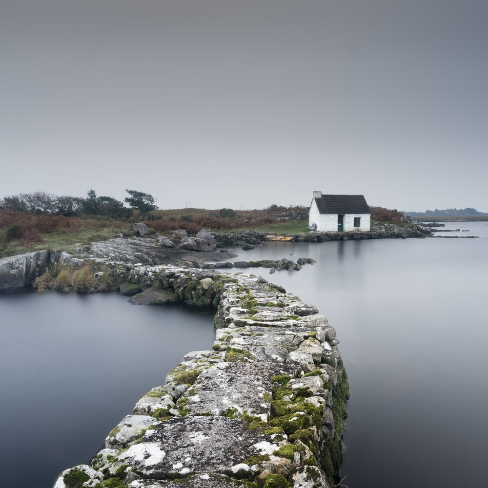 Fishing Hut on Lough Ahalia