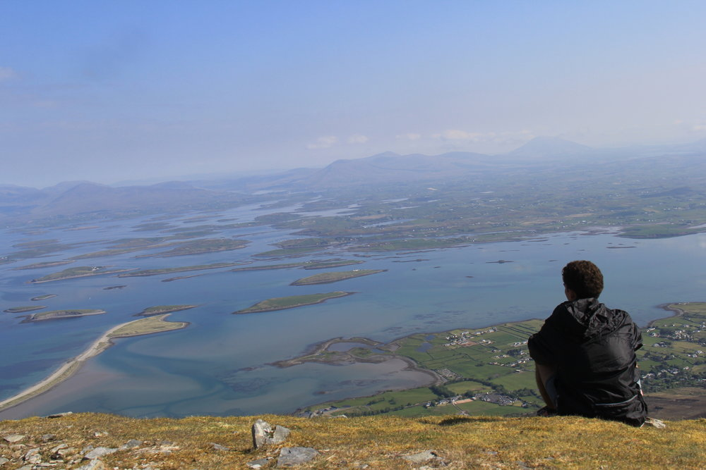 When I was walking down Mt. Croagh Patrick, loads of hikers going up would ask me how much left until the summit. Even when they were like around the corner from the summit, I would still say quiet casually 'you're about 3/4's of the way there'. I could hear their hearts drop.