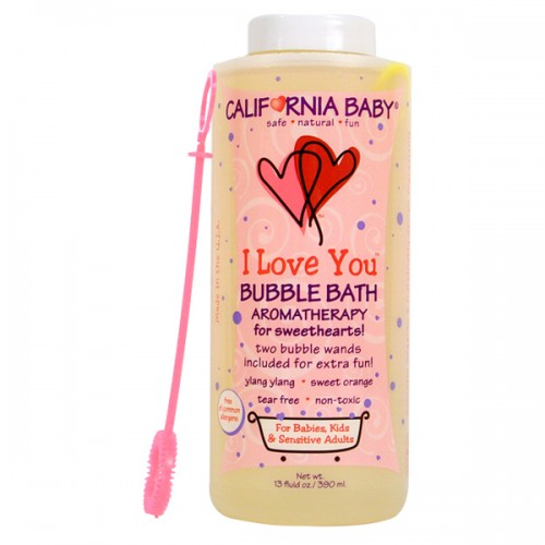 California Baby Bubble Bath is organic and earth-friendly.