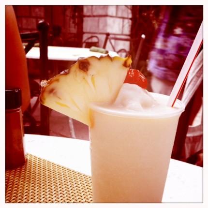 Pina Coladas in Jamaica!