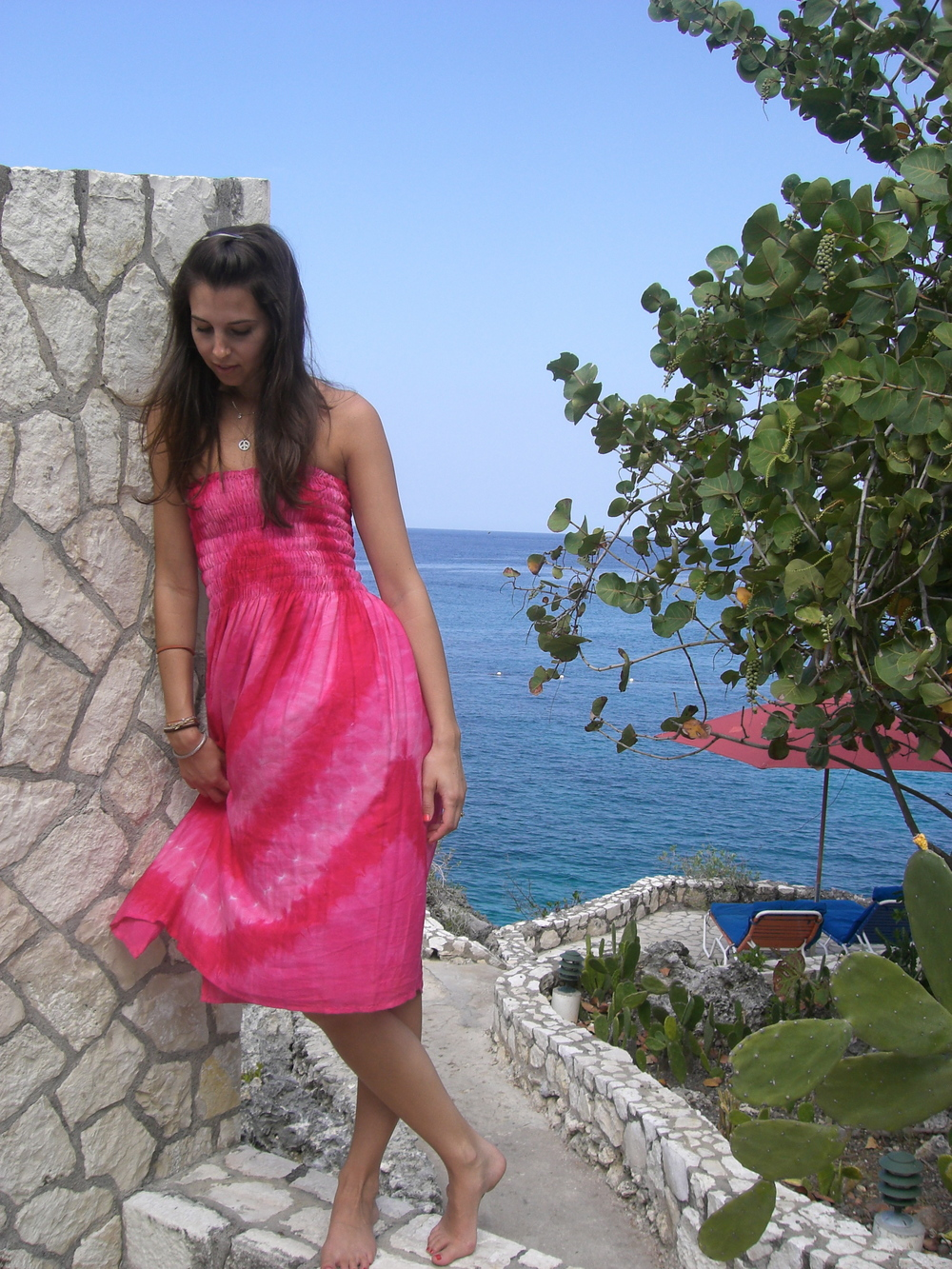 Love Life and Lollipops- Jamaican Tie Dye Dress 1