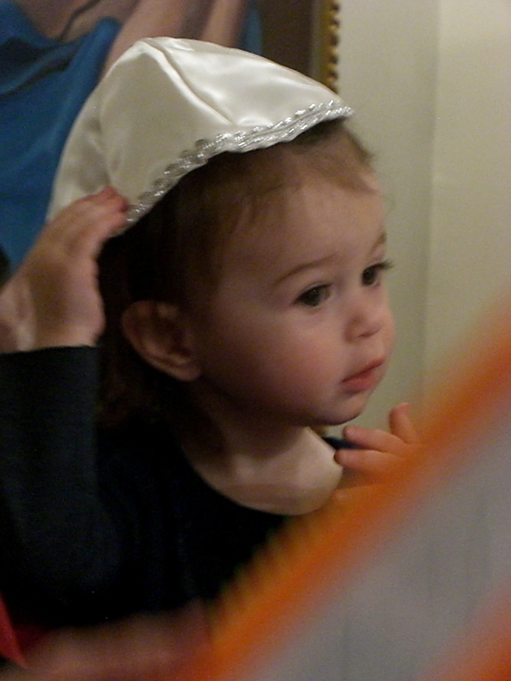 Love Life and Lollipops- Avi in her Kippah