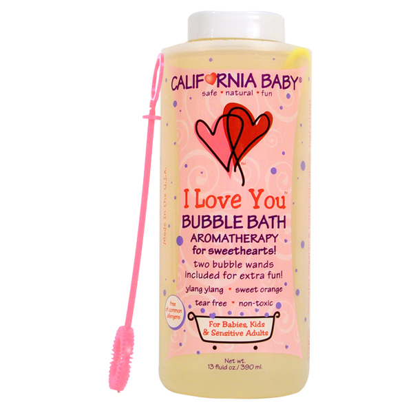 Love Life and Lollipops- California Baby Bubble Bath