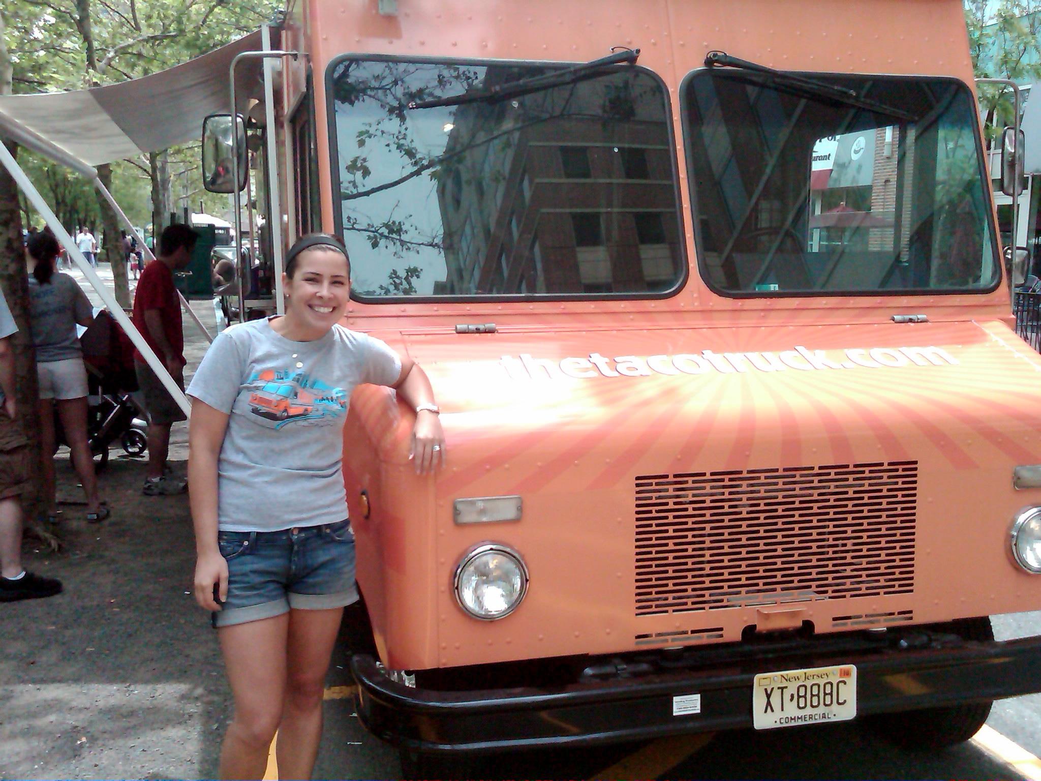 Shachar Scott at The Taco Truck