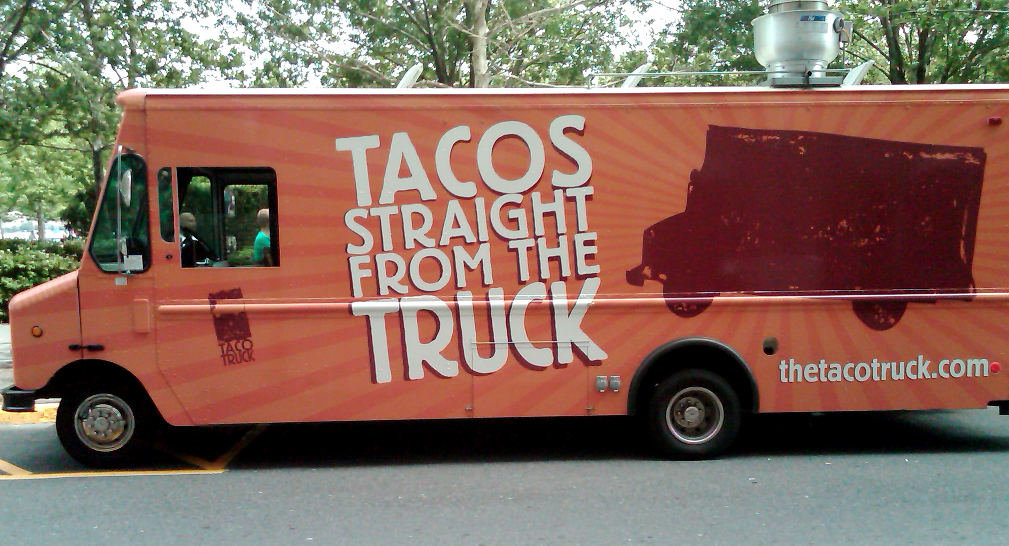 The Taco Truck parked