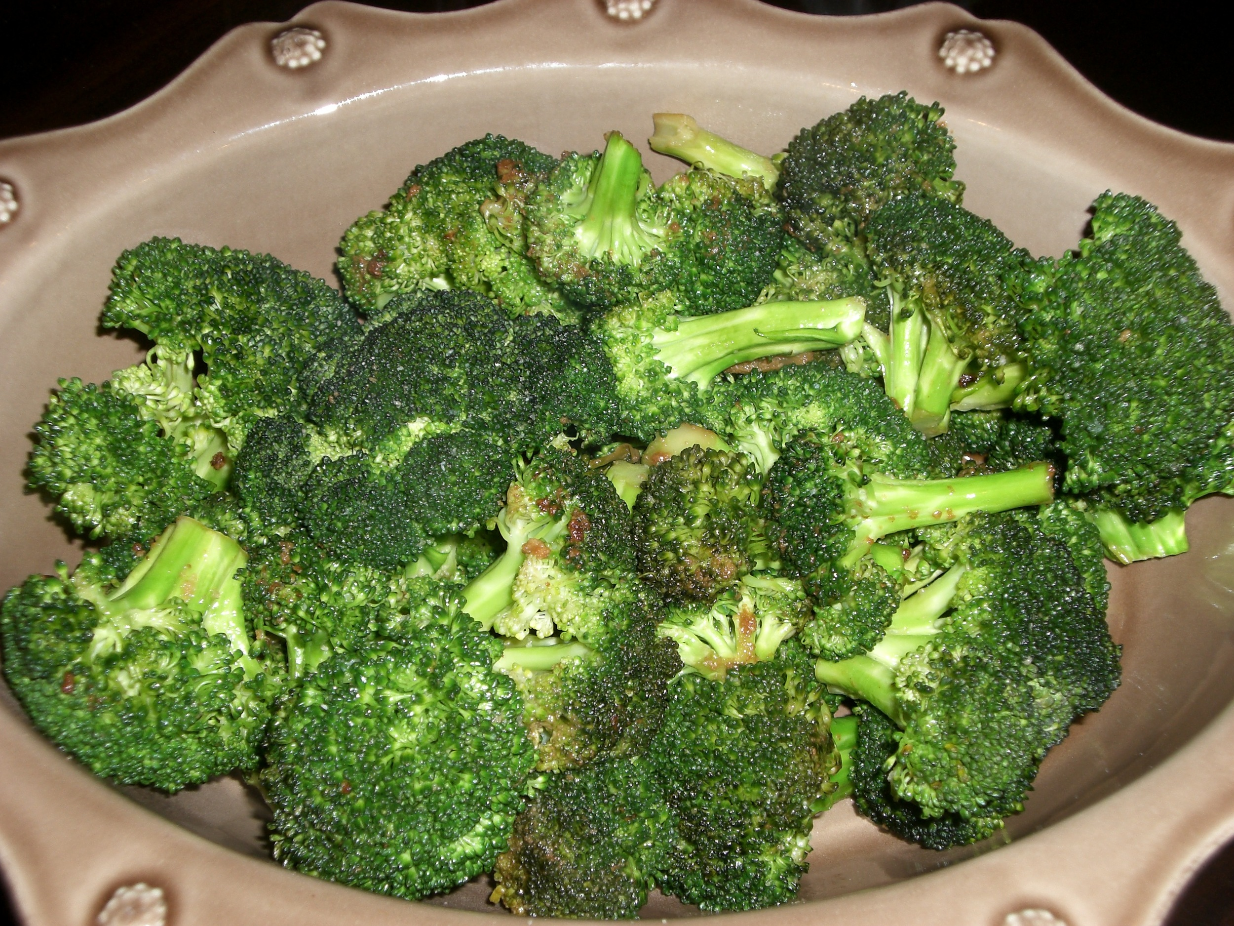 Broccoli is totally vegan and wildly heathy!