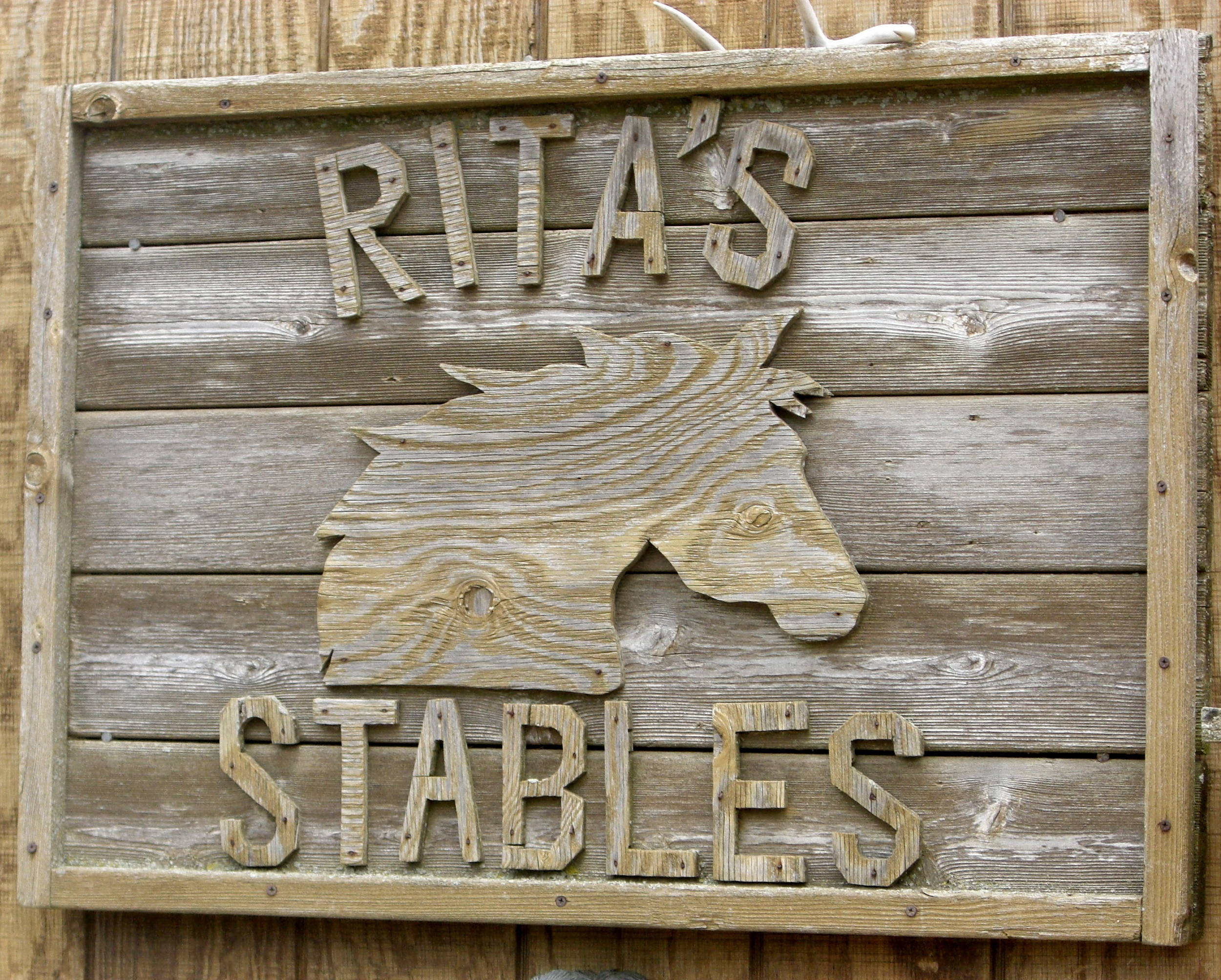 Rita's stables in Montauk.
