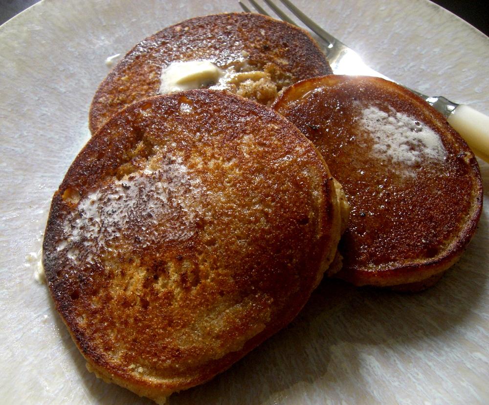 Love Life and Lollipops- Vegan Pancakes