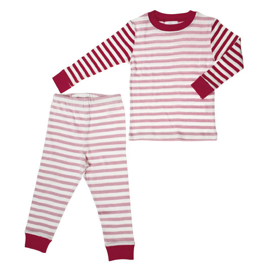 Avi almost exclusively wore these organic pj's from Giggle for her first year!