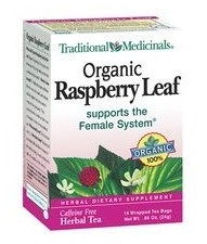 Organic raspberry leaf tea is great for pregnancy.