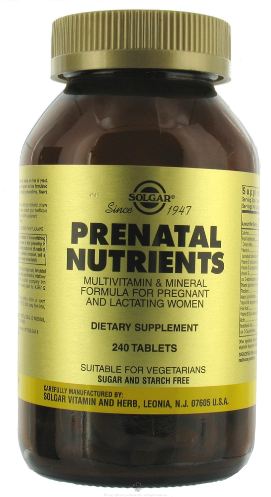 Prenatal vitamins are an integral part of any pregnancy, even a vegan one.