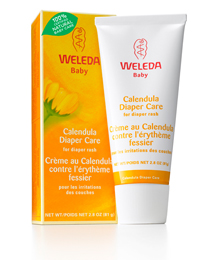 This organic, calendula diaper cream by Weleda far exceeds any others we've tried.