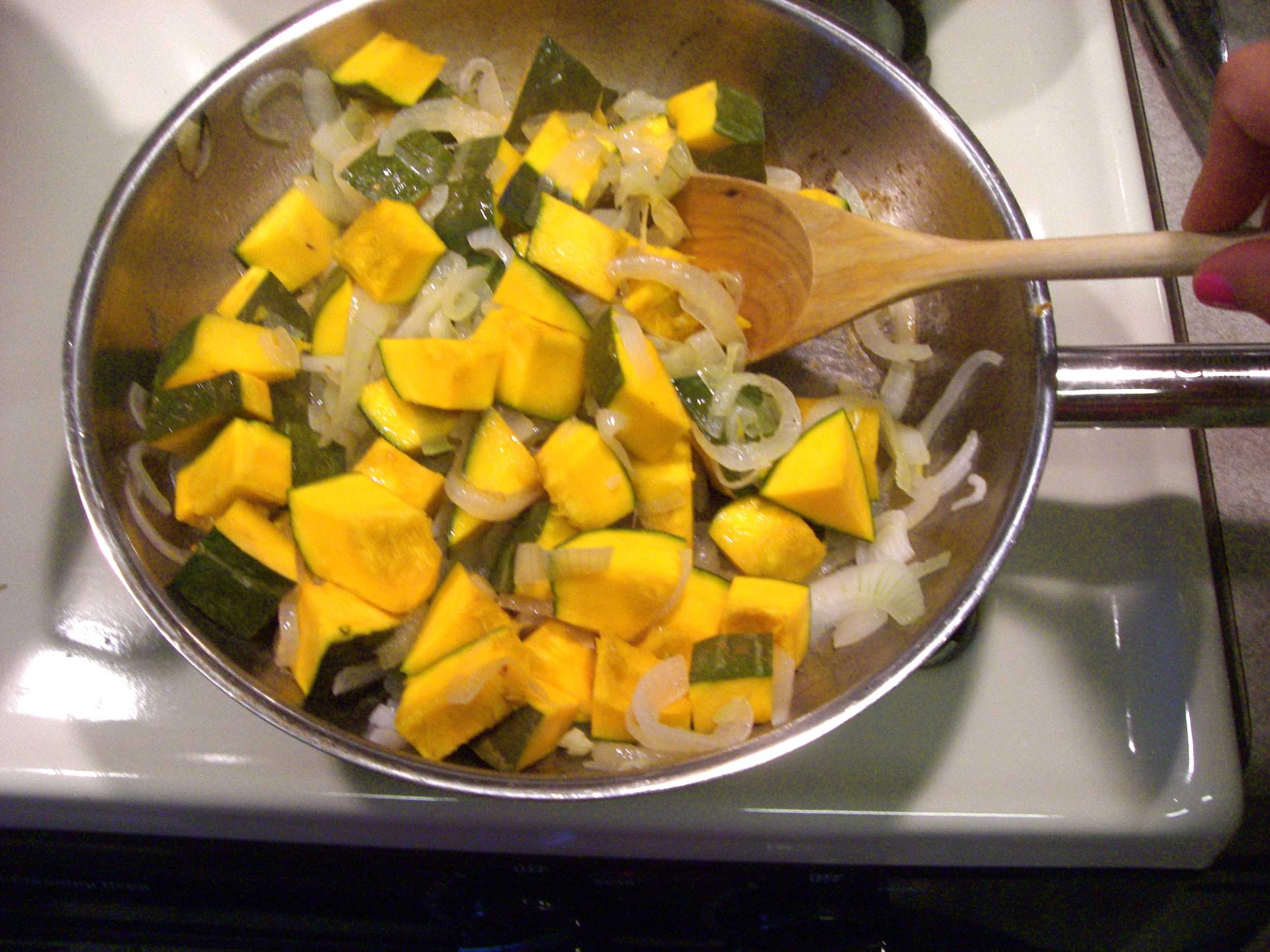 This vegan kobucha squash dish is delicious and supersimple to make.