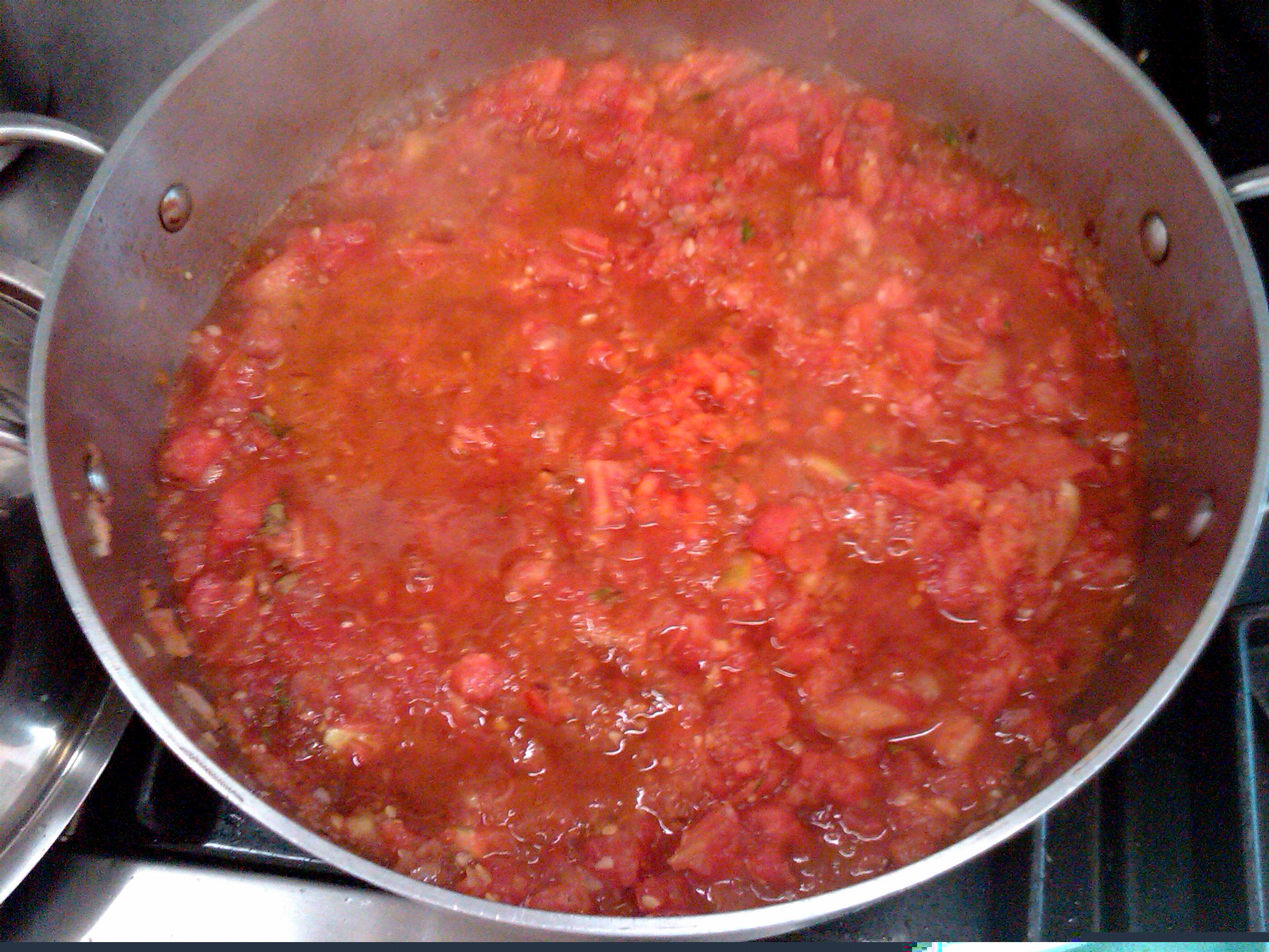 The secret is in the tomato sauce!  Vegan, organic, fresh!