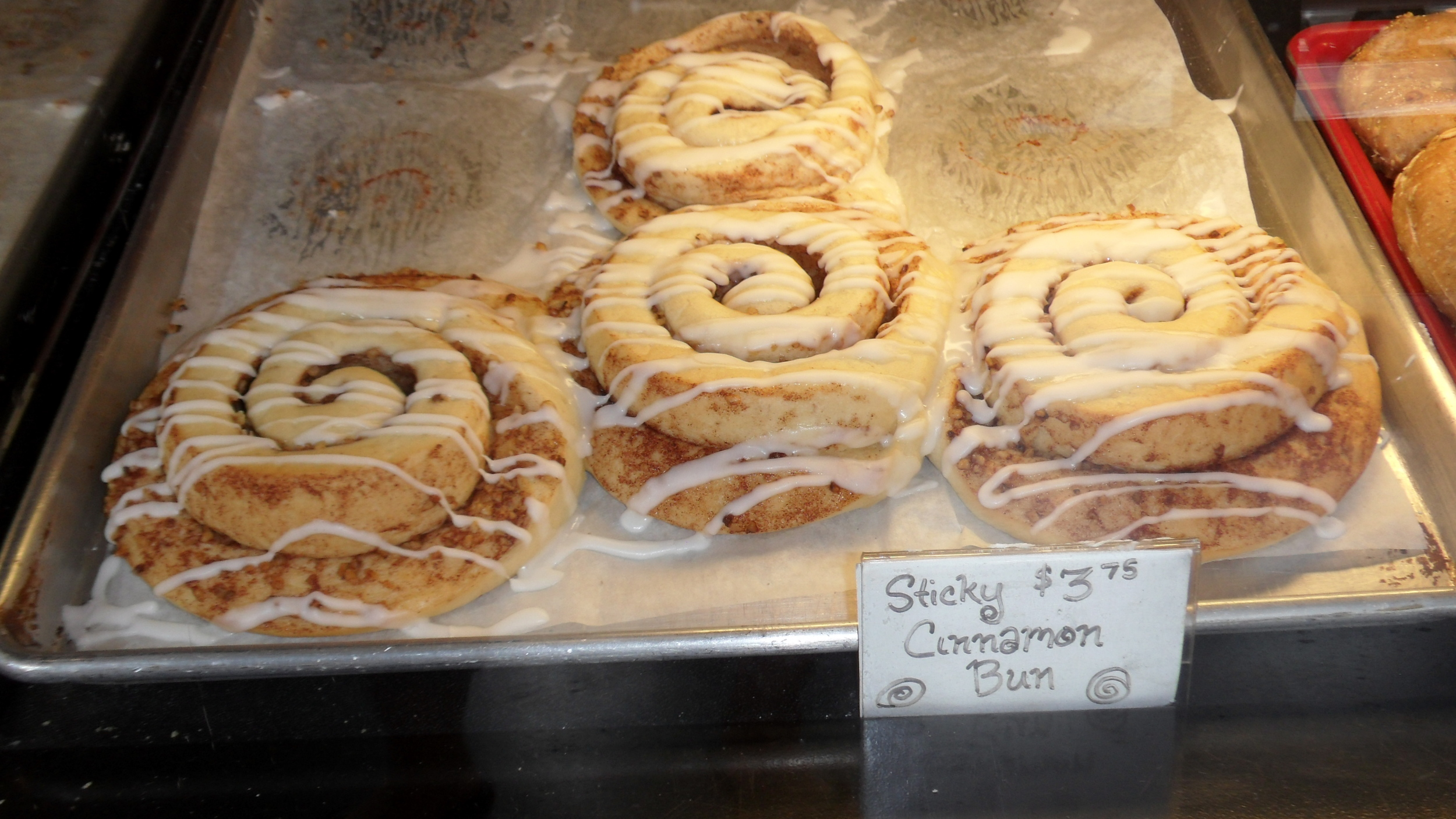 Cinnamon buns are one of the harder things to make vegan, but these were scrumptious!