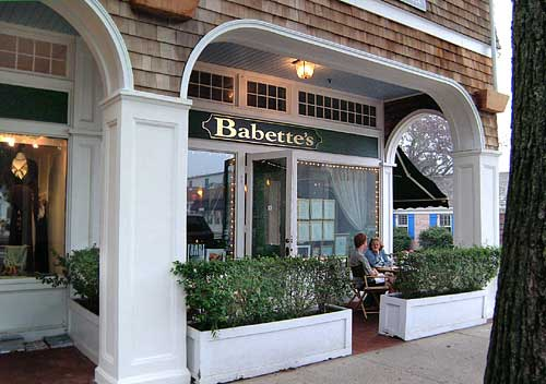 Babette's East Hampton has the best tofu scramble and vegan option around.