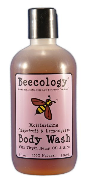 Beecology body wash is formulated without parabens, sulfates, or pegs!