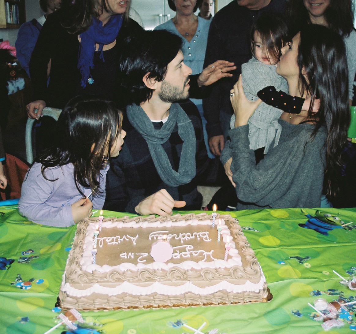 Avi's birthday cake was so delicious and totally vegan!