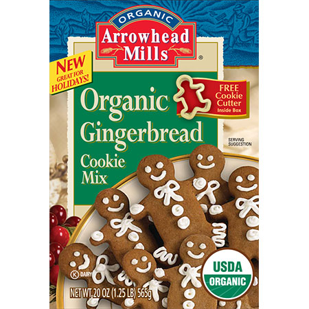 This mix makes vegan gingerbread cookies easy and perfect every time!