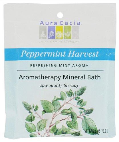 Aura Cacia Peppermint Harvest Mineral Bath