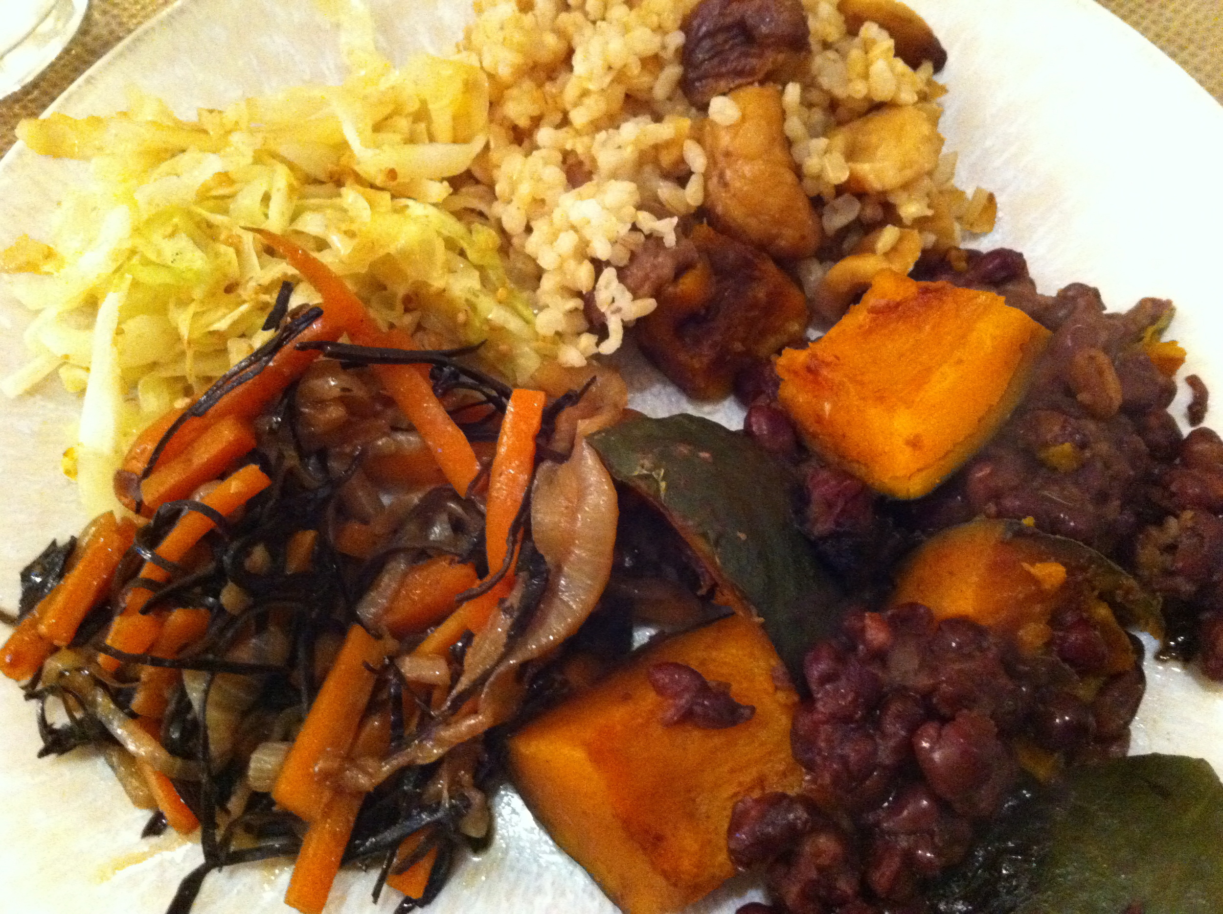 This combo of vegan macro foods makes a delicious dinner.