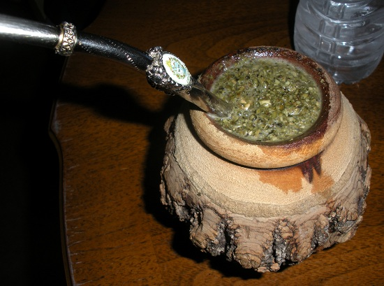Yerba Mate in place of coffee is a great healthy decision.