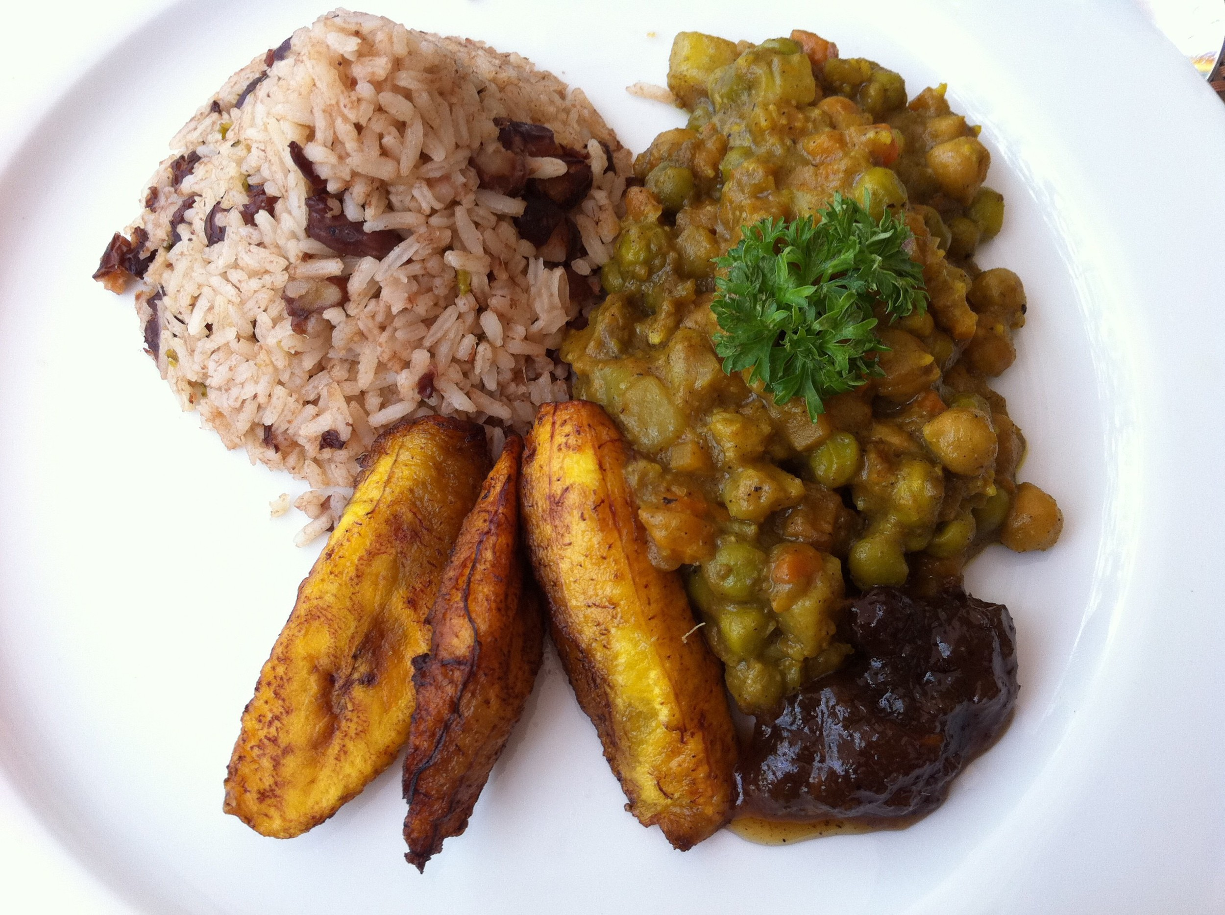 Jamaican Vegan Veggie Curry