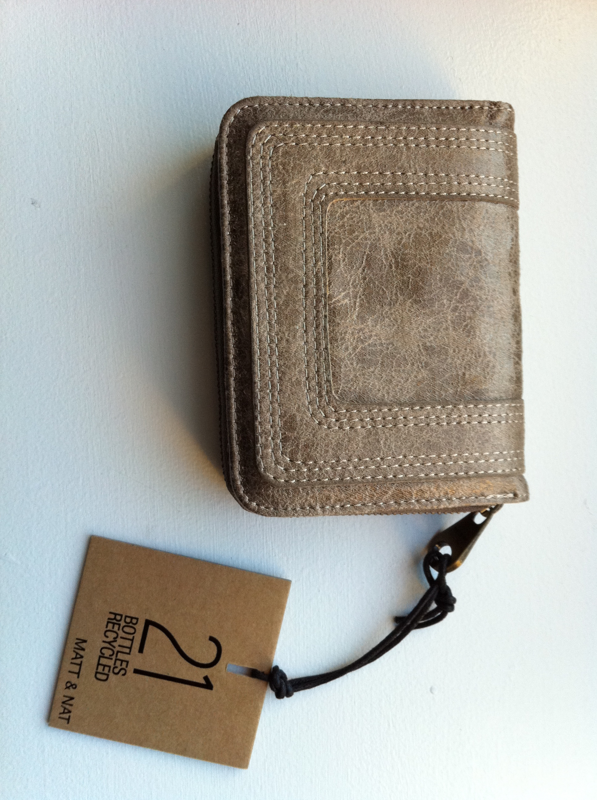 This Matt & Nat wallet is totally earth-friendly and made from recycled materials.