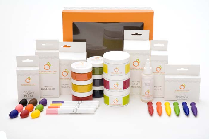 Clementine Art eco-art supply gift set