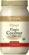 Coconut oil is perfect for many vegan recipes.
