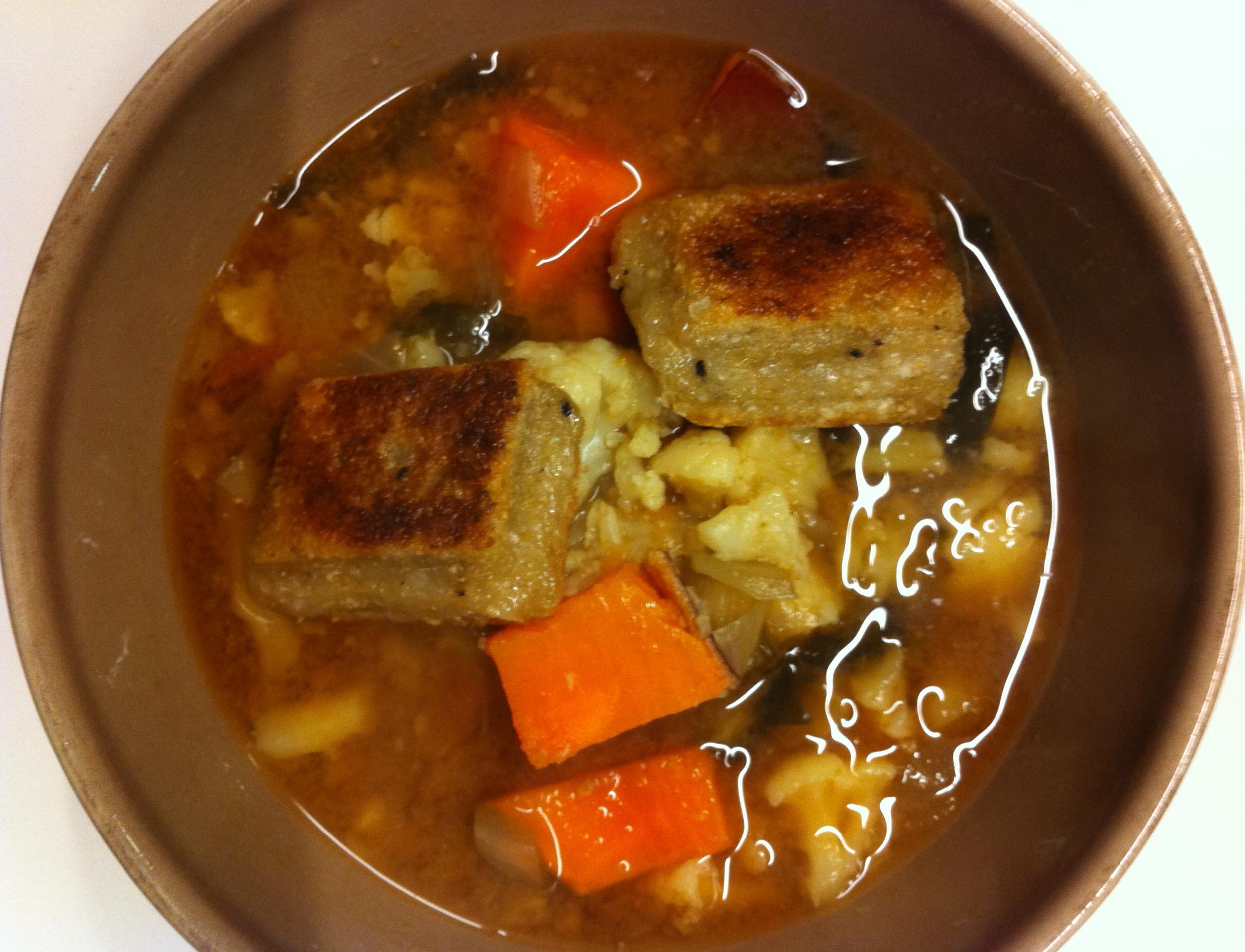 I love miso soup.