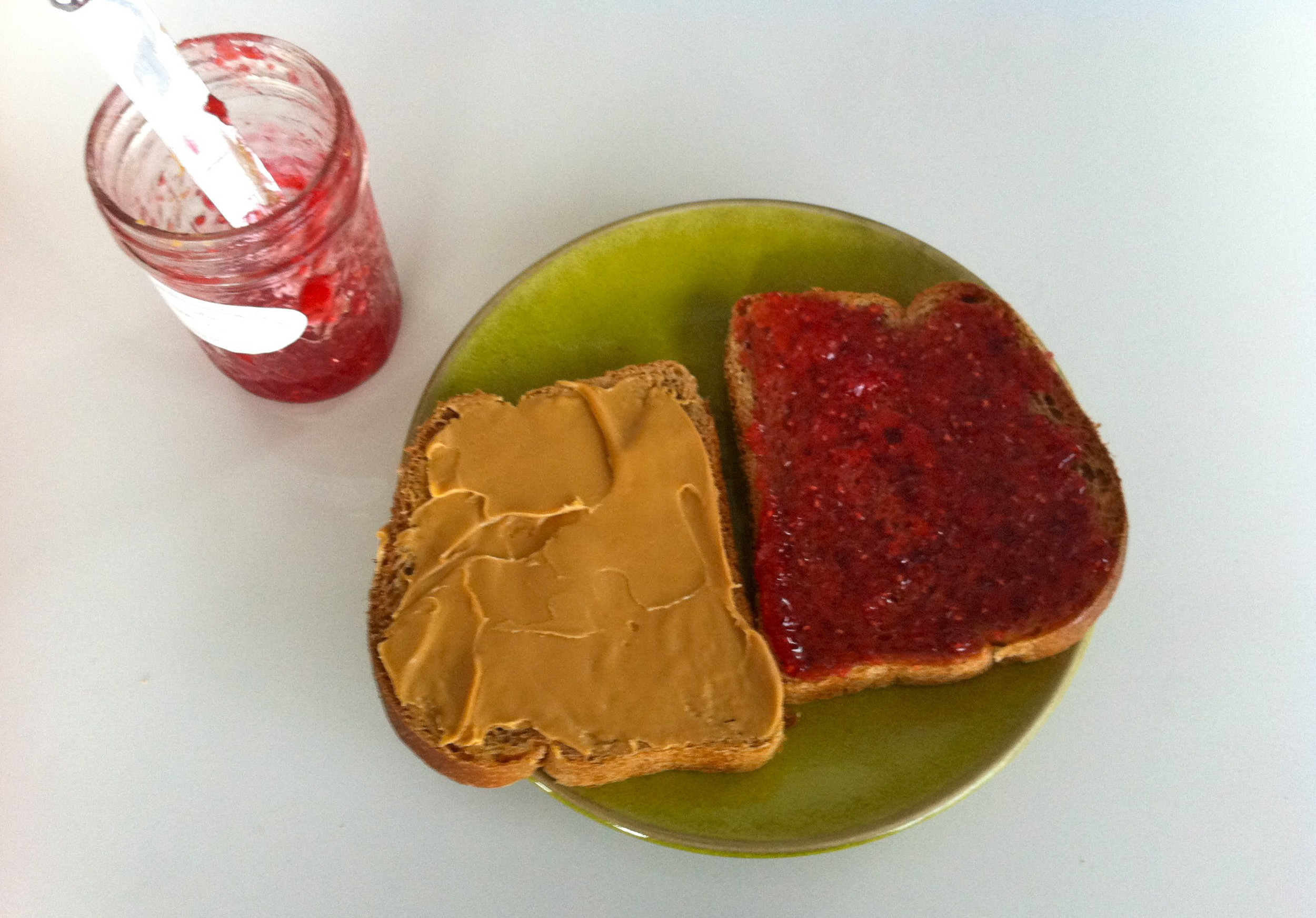 PB&J is vegan and delicious.