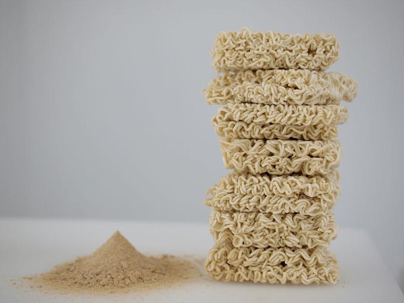 Jonathan Blaustein Shrimp Flavored Ramen Noodles