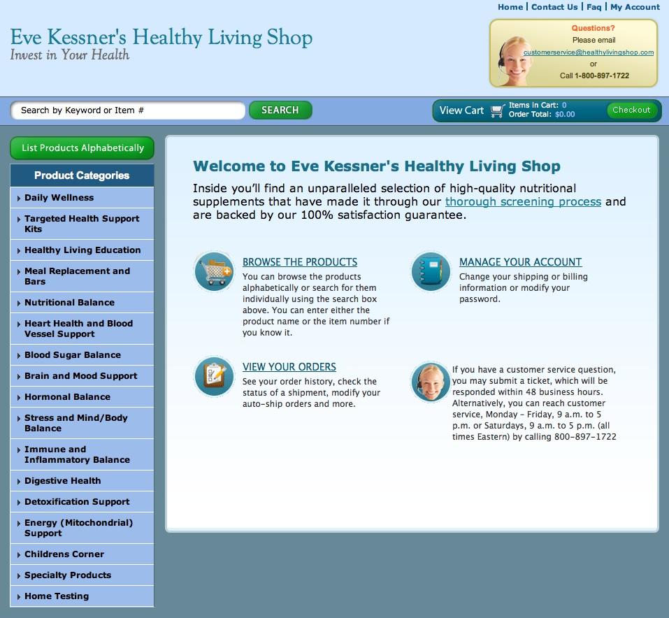 Love Life and Lollipops- Eve Kessner Healthy Living Shop